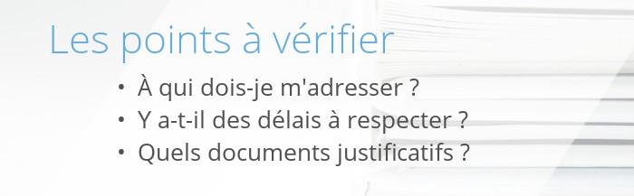 verification demarches adminstratives